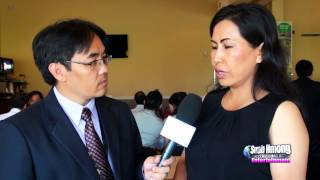 Suab Hmong Entertainment:  Interviewed Lee Xiong, Hmong Singer/Actress/Producer