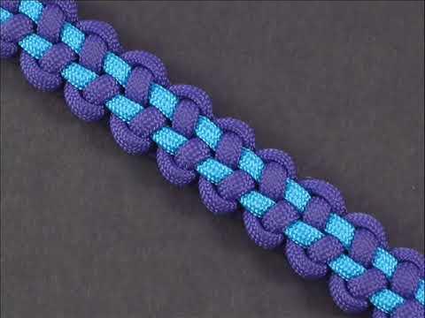 Плетение из веревок браслет