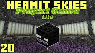 Hermit Skies 20 The Beheading Box (Project Ozone Lite Skyblock Modded Minecraft)