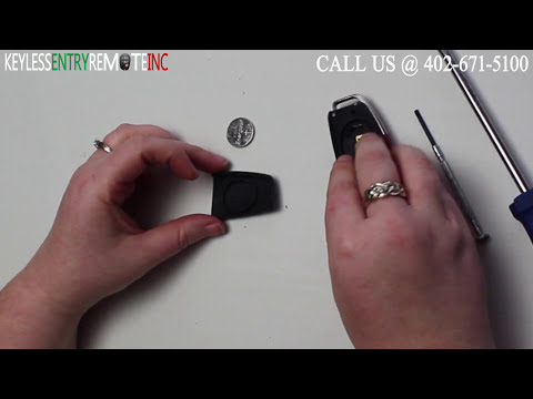 How To Replace Audi Q7 Key Fob Battery 2007 2008 2009 2010