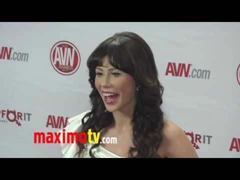 Brooklyn Lee At 2012 AVN AWARDS Show Red Carpet Arrivals