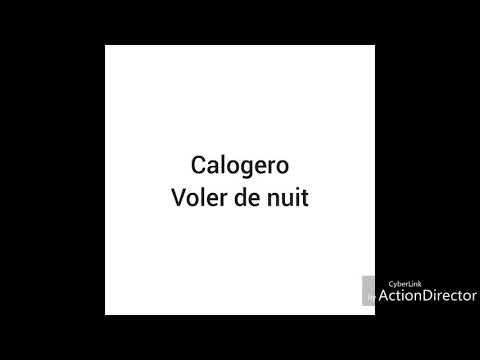 Calogero voler de nuit audio