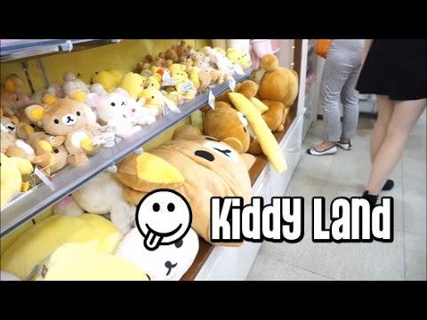 KIDDY LAND IN SHIBUYA - Sailor Moon, Hello Kitty and Rilakkuma plushies (Vlog #7)