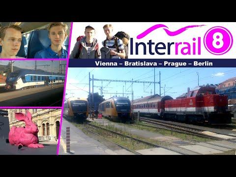 【Interrail #8】 Wien - Bratislava - Praha - Berlin