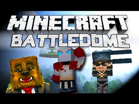 Minecraft Battledome! - w/SkyDoesMinecraft, Jerome, and More! #1: IT RETURNS! Video