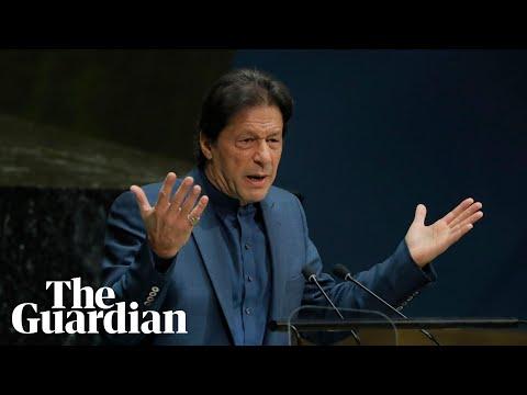 Imran Khan urges UN to intervene in Kashmir dispute, warning of bloodbath and nuclear war