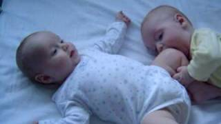 Twin Funny Babies 1