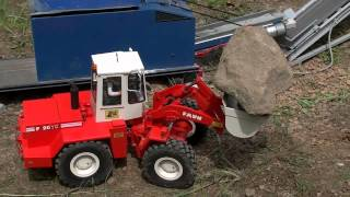 RC DAY IN THE BIG NUGGET MINE, RC TRUCKS, RC WHEEL LOADER, RC TIPPER, 2013, BEST OF VIDEO