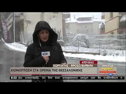 Έπεσαν τα πρώτα χιόνια στα ορεινά | 04/12/2019 | ΕΡΤ