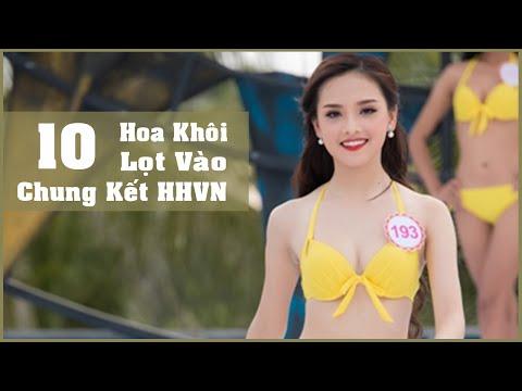 Cái tên đáng chú ý tại Hoa Hậu Việt Nam  Có Link Facebook các thí sinh