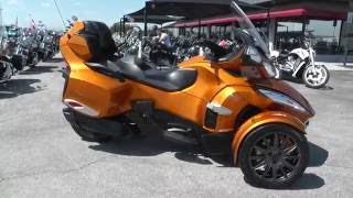 6. 007316 - 2014 Can Am Spyder RT S SE6 - Used motorcycles for sale