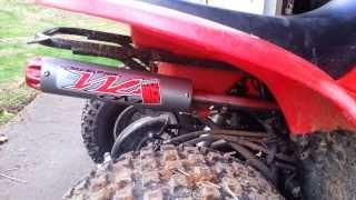 6. Big Gun Exhaust Honda TRX 90
