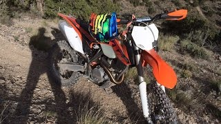 9. KTM 350 XC-F vs 300 XC-W - Sagebrush Single Track