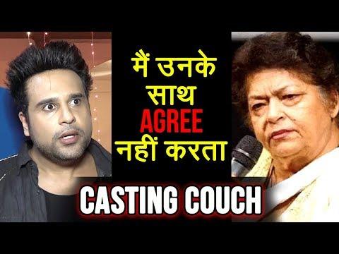 Krushna Abhishek ANGRY On Saroj Khan For Her Casti