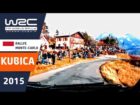 Vídeo onboard Robert Kubica S11 WRC Rallye Montecarlo 2015