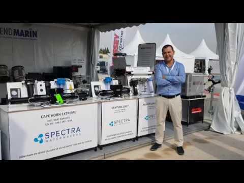 """Boat Show Eurasia 2018 """"SPECTRA"""" Su Yapıcıları"""