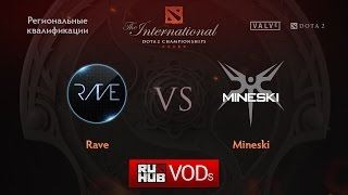 Rave vs Mineski, game 1