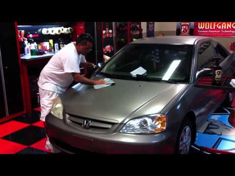 Removing Extreme Oxidation off a 2003 Honda Civic
