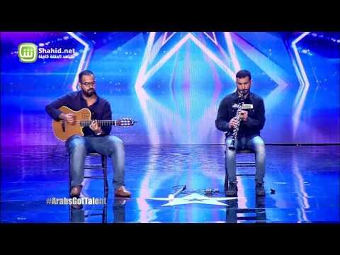 """شاهد- لماذا حصل هذا الثنائي على """"باز"""" ذهبي استثنائي في Arabs Got Talent"""