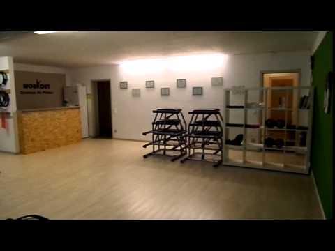 Großer Kursraum im Centrum für Pilates - Workout Nürnberg