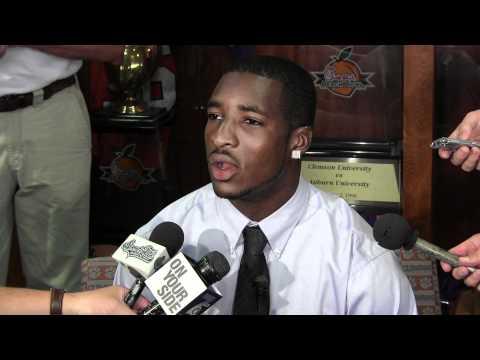 Rashard Hall - Troy pre-game press conference 8/30/2011 video.
