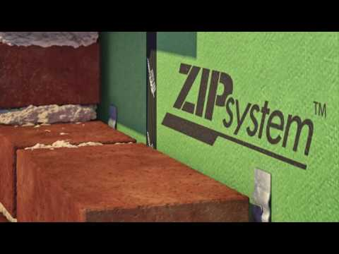 ZIP System® Sheathing and Tape