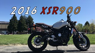 6. 2016 Yamaha XSR900 Test DAY