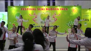 Video Senam Bersama - Dunia Satu Keluarga 世界一家 @Festival INLA 2014 by Motion Addict MP3, 3GP, MP4, WEBM, AVI, FLV Maret 2018