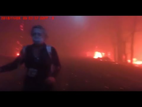 Raw Video: Butte County Sheriff Deputy BodyCam Video Of Camp Fire Evacuations