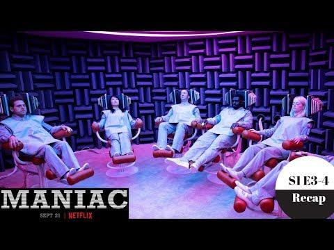 Maniac - Season 1 Episode 3 & 4 Recap - Spoilers