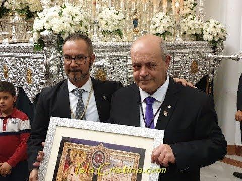 Tradicional Levantá de Honor Hermandad Gran Poder de Isla Cristina