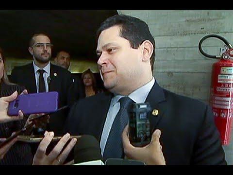 Senado está engajado na aprovação da reforma da Previdência, diz Davi Alcolumbre