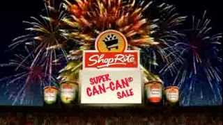 2014 ShopRite Super Can Can Sale TV Commercial