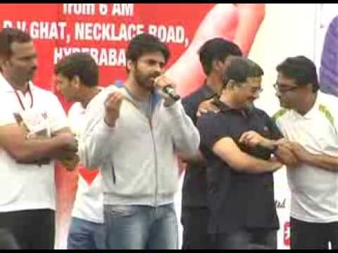 Pawan Kalyan at Hrudaya Spandana Walk for Heart