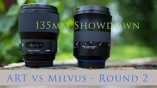 Sigma ART vs Milvus 135: Resolution Challenge Round 2  Photographer Dustin Abbott tests a second copy of the Sigma 135mm f/1.8 ART to see if it holds up better in a second round with the reigning champ - the Zeiss Milvus 135mm f/2.  Sigma 135 ART Review: http://bit.ly/ART135DA  Milvus 135 Review: http://bit.ly/Milvus2135  Purchase the Milvus 2/135mm: B&H Photo https://bhpho.to/2oF8NZh  Amazon: http://amzn.to/2qqkTq8  Purchase the Sigma 135 ART: B&H Photo https://bhpho.to/2rJAKnz  Amazon: http://amzn.to/2rs9xWV  My Patreon: https://www.patreon.com/dustinabbott  Zhiyun Crane - USA: https://bhpho.to/2gDJhnC   Check me out on:  Personal Website:  http://dustinabbott.net/   Sign up for my Newsletter: http://bit.ly/1RHvUNp   Google+: http://bit.ly/24PjMzv  Facebook:  http://on.fb.me/1nuUUeH   Twitter:  http://bit.ly/1RyYxIH   Flickr:  http://bit.ly/1UcnC0B   500px:  http://bit.ly/1Sy2Ngu Check me out on:  Personal Website:  http://dustinabbott.net/   Sign up for my Newsletter: http://bit.ly/1RHvUNp   Google+: http://bit.ly/24PjMzv  Facebook:  http://on.fb.me/1nuUUeH   Twitter:  http://bit.ly/1RyYxIH   Flickr:  http://bit.ly/1UcnC0B   500px:  http://bit.ly/1Sy2NguKeywords:  Milvus vs ART, Milvus v ART, 135 ART vs Milvus 135, Zeiss Milvus 135mm f/2, 2/135, Milvus2135, Sigma 135 ART, Sigma 135mm ART, Sigma 135mm f/1.8, Sigma 135mm f/1.8 ART, Sigma 135mm Review, Sigma 135 ART Review, Sigma 135mm f/1.8 DG HSM ART, Comparison, Test, Sharpness, Dustin Abbott, Photography, 2017, Bokeh, Vignette, Chromatic Aberration, Video Test, Sample Images, Photos, Real World, Hands On, Photo Gallery, Review