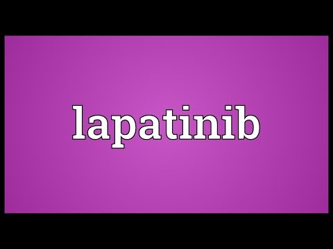 Lapatinib Meaning