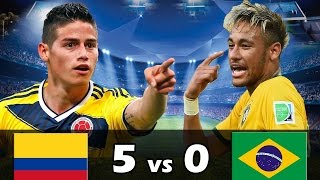 Video Colombia 5 vs Brasil 0 - Amistoso Internacional 2017 - Parodia Eliminatorias BrUjO FX MP3, 3GP, MP4, WEBM, AVI, FLV Desember 2017