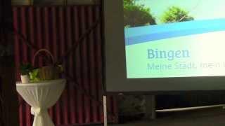 Eröffnung Binger Gartenamrkt - Das Binger Lied