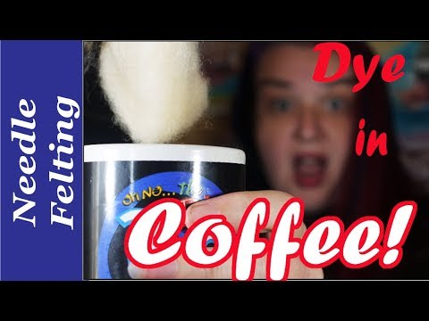 Dying wool with Coffee