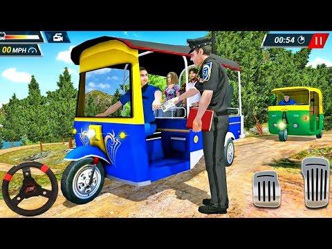 Offroad Tuk Tuk Driving 2019 - Rickshaw Auto Driver Simulator - Android GamePlay