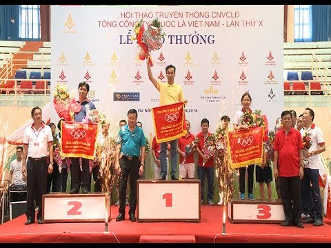 Hội thao truyền thông CNVCLĐ TCT Thuốc lá Việt Nam lần thứ X - 2018