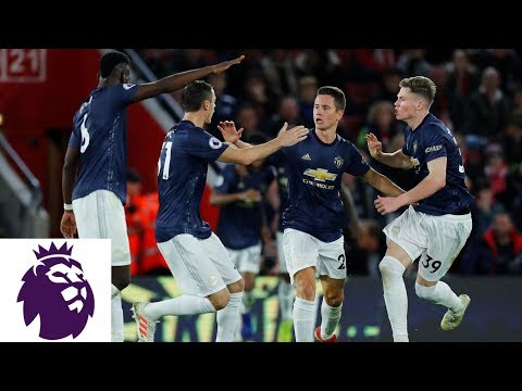 Video: Herrera's clever backheel equalizes for Man United | Premier League | NBC Sports