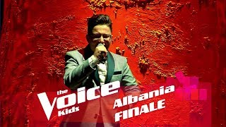 Denis B. - I surrender | Finale | The Voice Kids Albania 2018