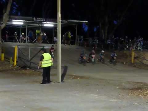Happy Valley BMX Mad March series 2013 week 2, 1st moto