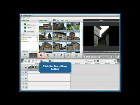 How to create a photo slideshow using AVS Video Editor?