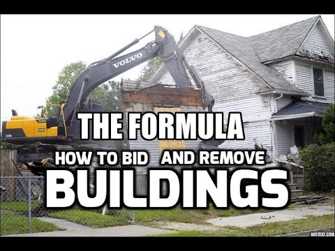 How to Do Building Demolition - Pricing and Methods