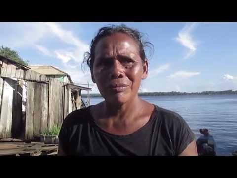 Abaixo da Barragem - Zila Kayapó, enchente na volta grande do Xingu