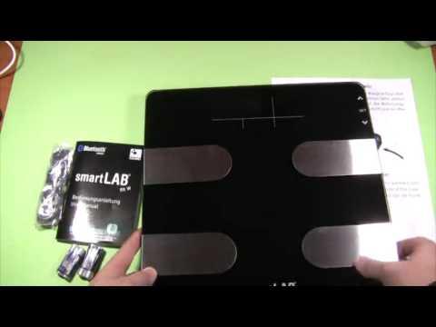 smartLAB fit W Báscula de análisis corporal Opinione, Báscula de análisis corporal