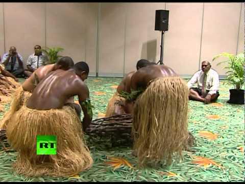 Лавров на Фиджи