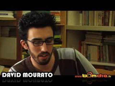 David Mourato - Entrevista ao Vivo 2007 www.Bomdia.lu (видео)